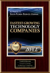 2012 Fastest Growing Technology Companies