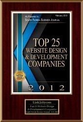 2012 Top 25 Website Design Development Companies
