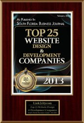 2013 Top 25 Website Design Development