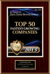 2013 Top 50 Fastest Growing Companies
