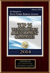 2014 Top 25 Website Design Development Companies