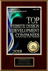 2018 Top 25 Website Design Development Companies