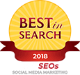 Best Search 2018 TOP SEOs Social Media Marketing Logo